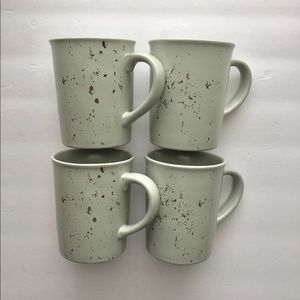 4 hearth And hand Stoneware Mugs